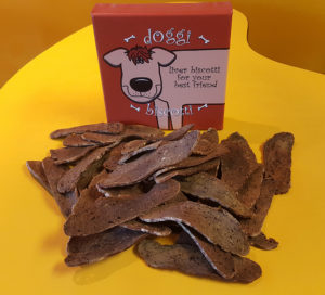 Liver Biscotti for Dogs